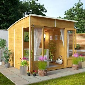Outdoor Summer House Guest Room Patio Garden Shed Sunroom