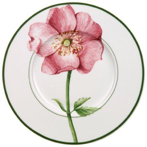Villeroy Boch Flora Wild Rose Design Bread And Butter Plate By Villeroy Boch 19 19 Imported Con Imagenes Ceramica Pintada A Mano Porcelana Pintada Platos Decorativos