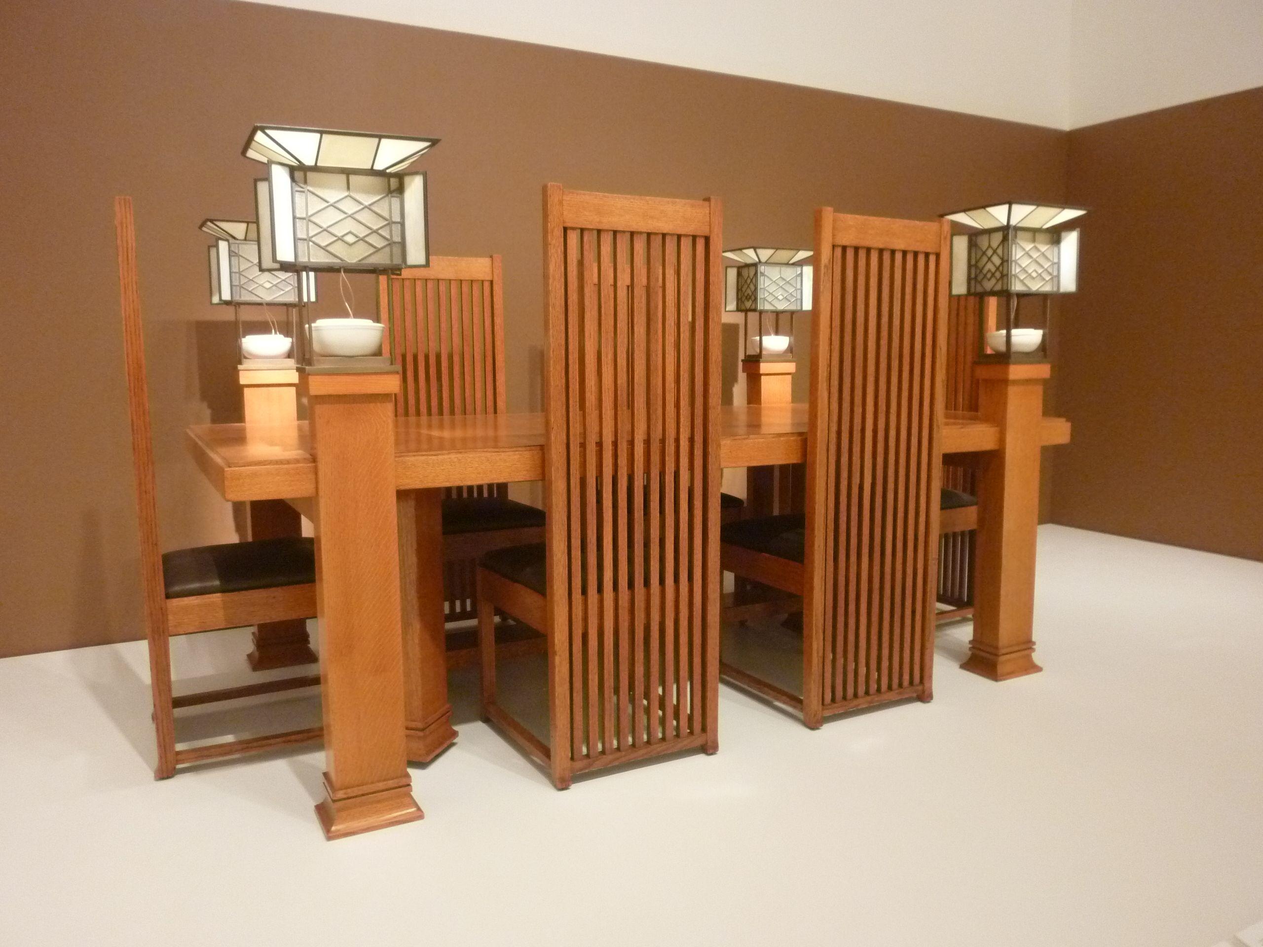 Frank Lloyd Wright Robie House Frank Lloyd Wright Frank Lloyd Wright Furniture