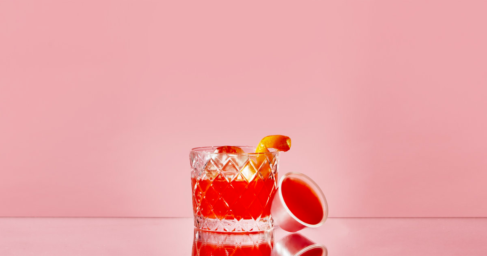 Negroni Jello Shot #jelloshotrecipes