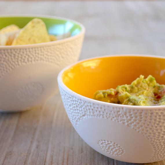Textured nesting bowls set of 3 by MaiaMingDesigns on Etsy