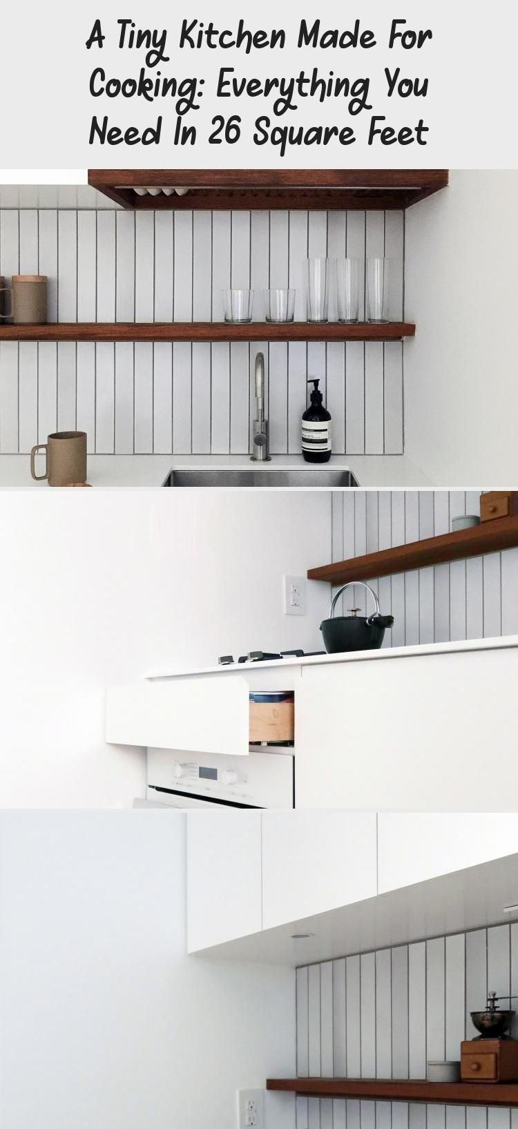 A Tiny Kitchen Made For Cooking