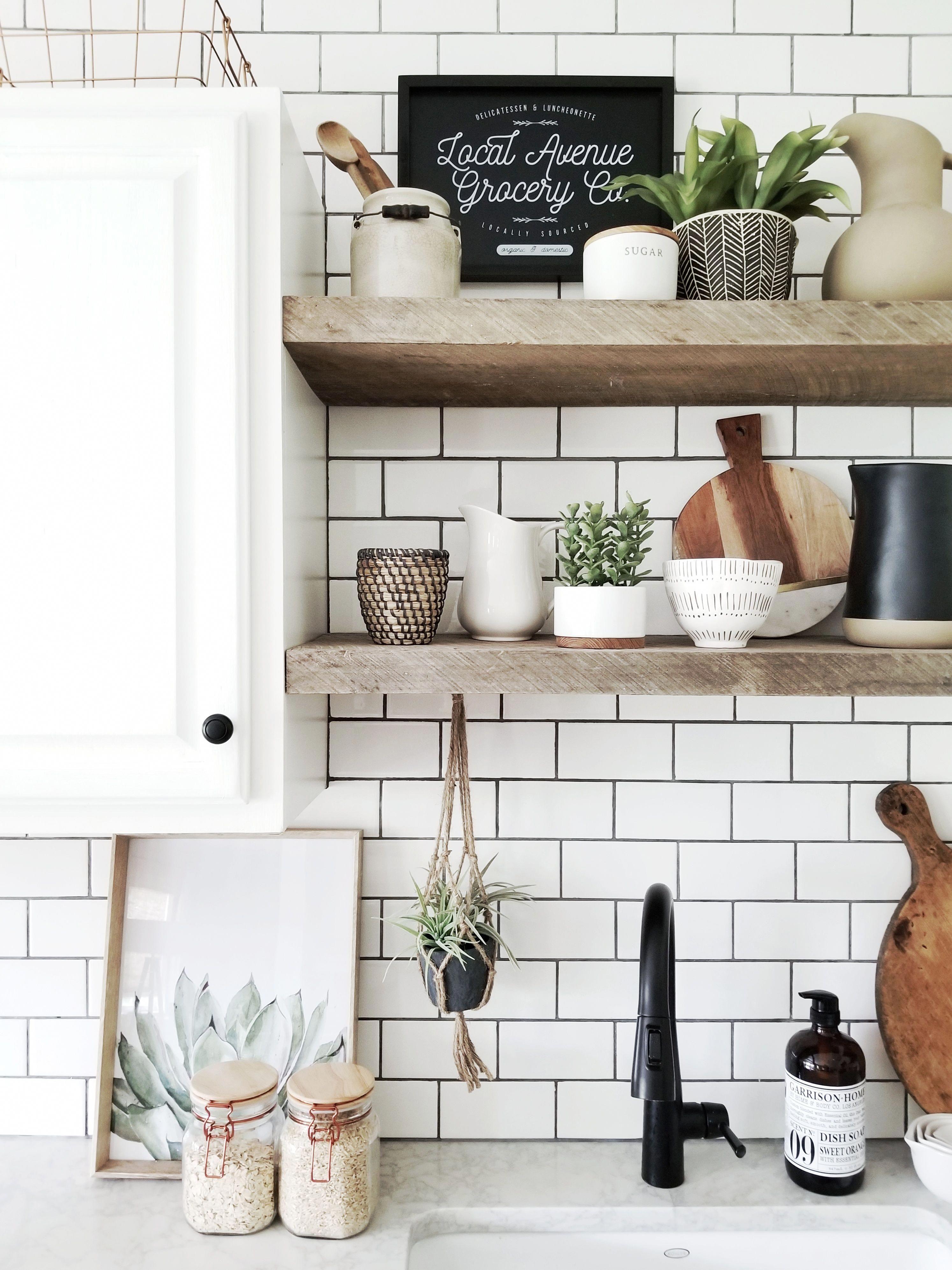 cynthia harper modern farmhouse kitchen open shelves farmhouse sink kitchensinkshelf with on farmhouse kitchen open shelves id=76883
