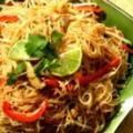 Tofu Recipes from the Thai Kitchen!: Stir-Fried Rice Noodles with Tofu