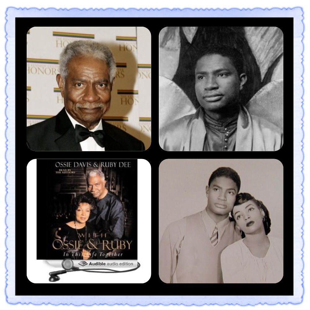 OZZIE DAVIS  -  Feb. 4, 2005  -  87 years old   -   died of natural causes in a Miami hotel room.  -  click to read more