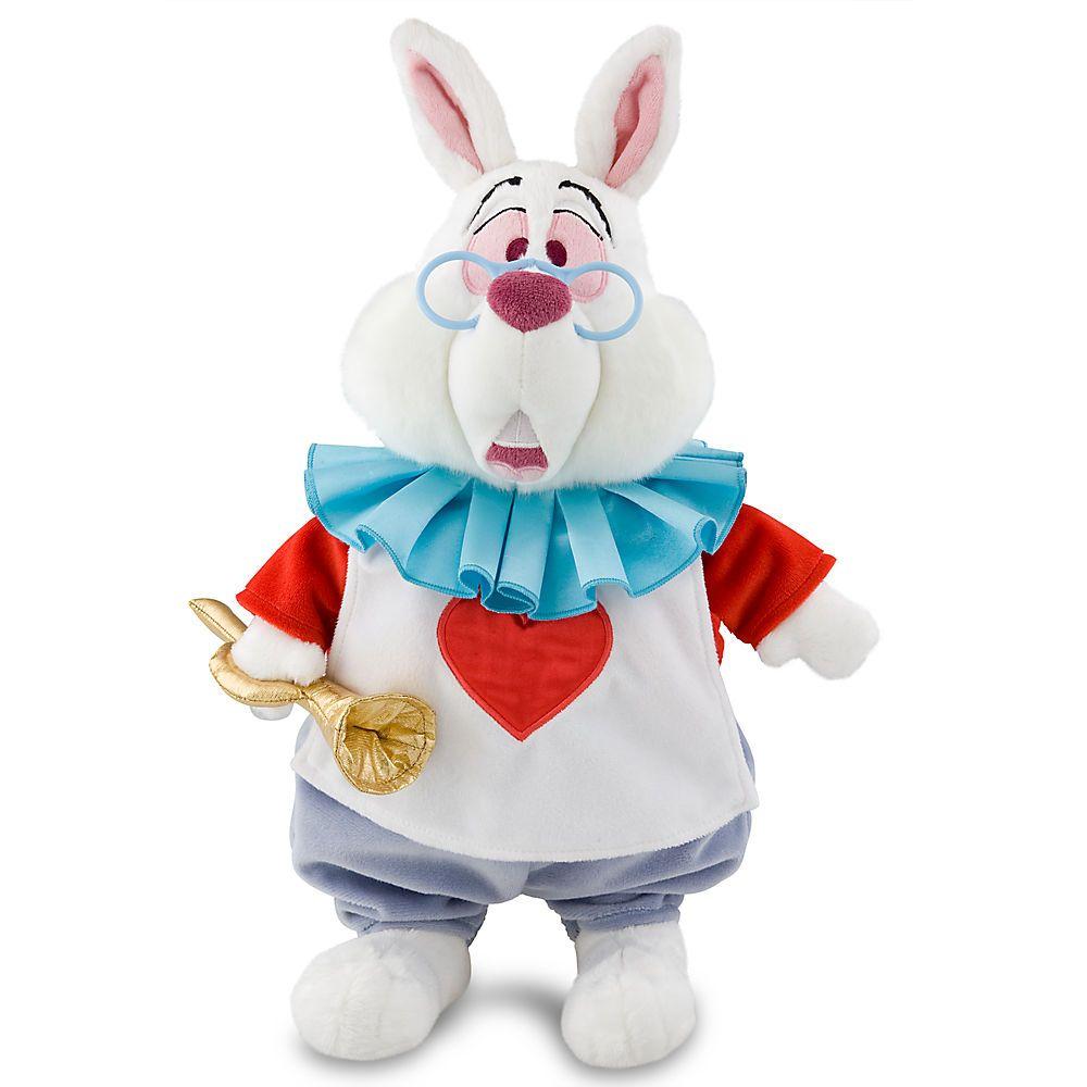 White Rabbit Plush Alice In Wonderland Medium 15 Plush