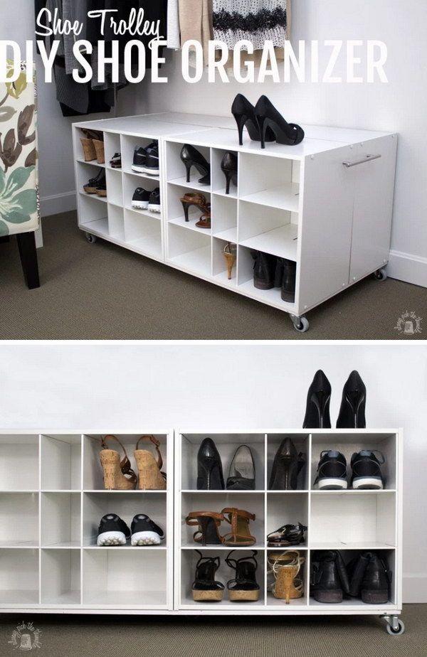 30 Creative Shoe Storage Ideas 30 Creative