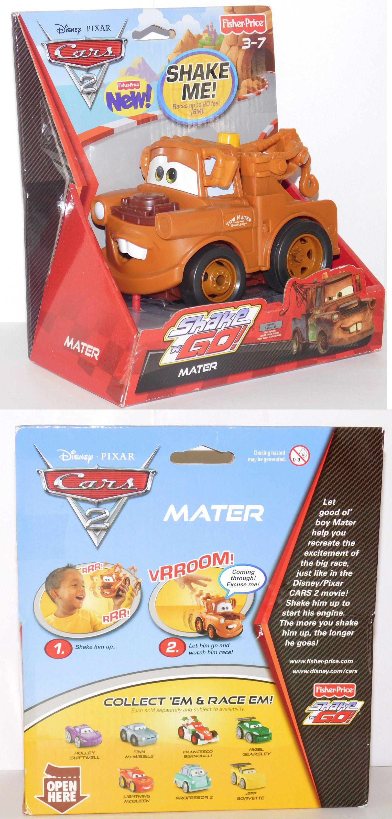 Shake N Go 168219 Mater Cars 2 Shake N Go Cars Disney Fisher Price