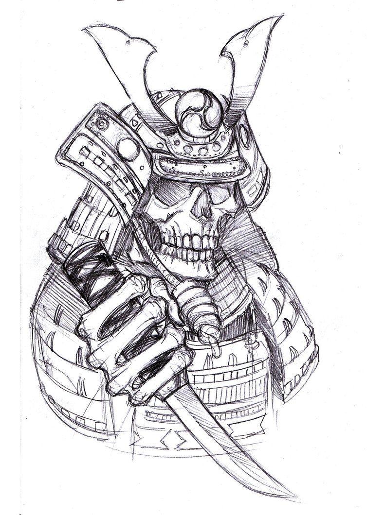 самурай арты карандашом человек непривередливый