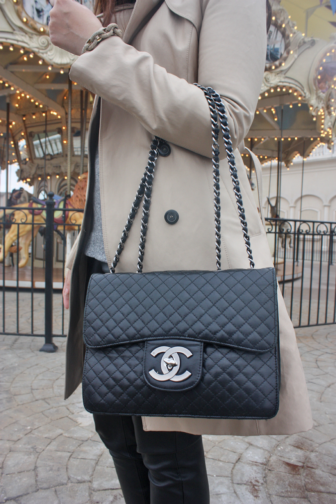 5d0549ed3d50 Chelsea & The City: Zara Trench, Chanel Bag #Chanelhandbags | Chanel ...