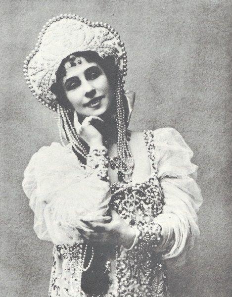 Mathilde Kschessinska (1872-1971)  Imperial Russian ballet prima donna and mistress to Nicholas II before he married Alexandra.