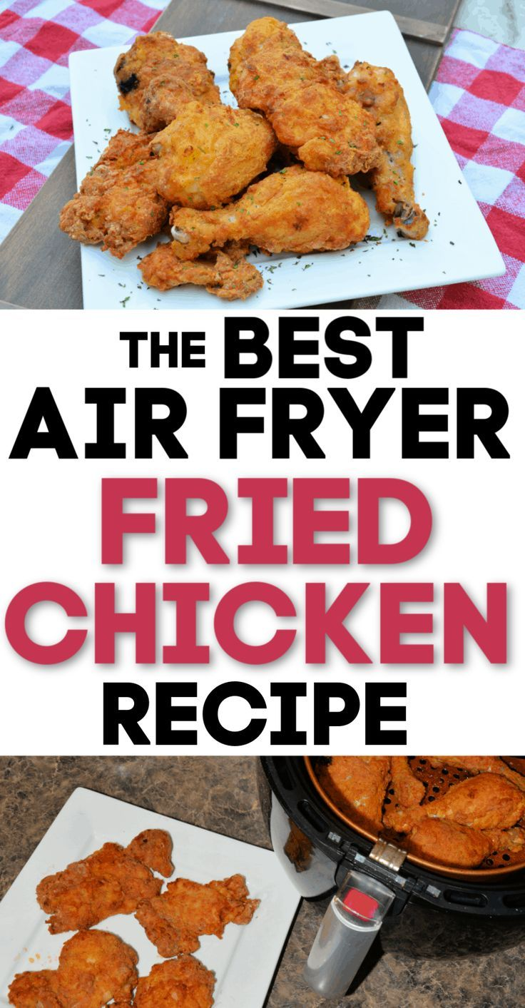 Photo of Air Fryer Fried Chicken Recipe