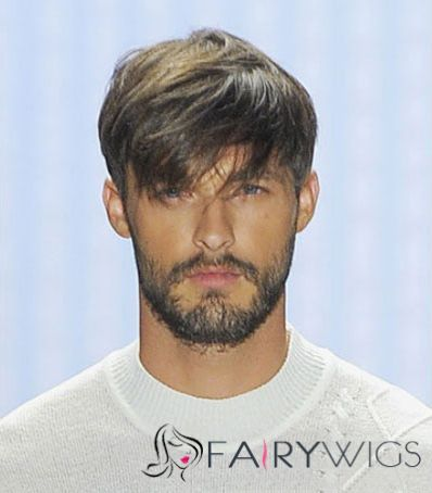 6 Inch Black Straight Capless 100 Indian Remy Hair Mens Wigs Mens Wigs Haircuts For Men Mens Hairstyles