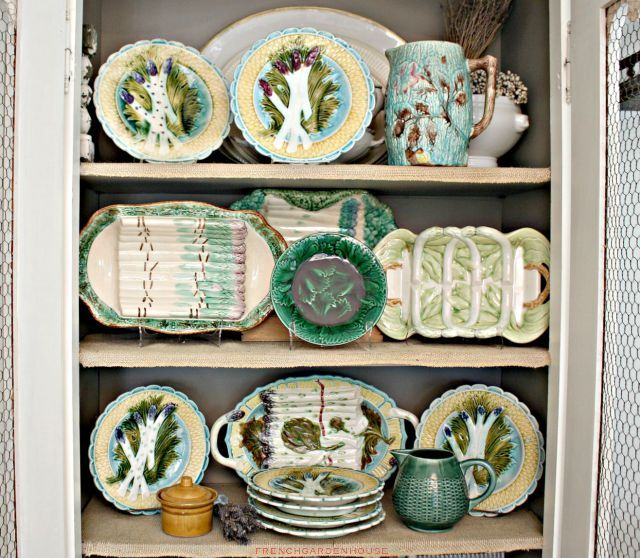 6 Ideas On How To Display Your Home Accessories: Secret Life Of Antiques: French Majolica II
