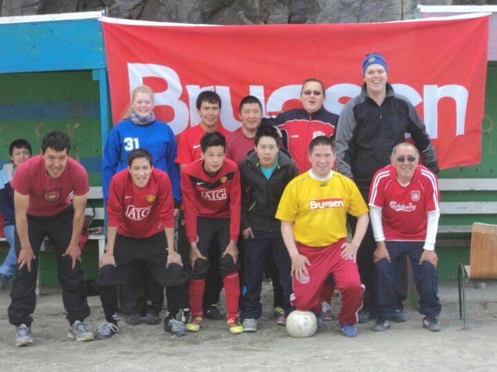 Brugseni footballteam 2011