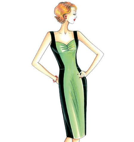 F3434 | Marfy Dress | New Designs | Butterick Patterns | MARFY ...