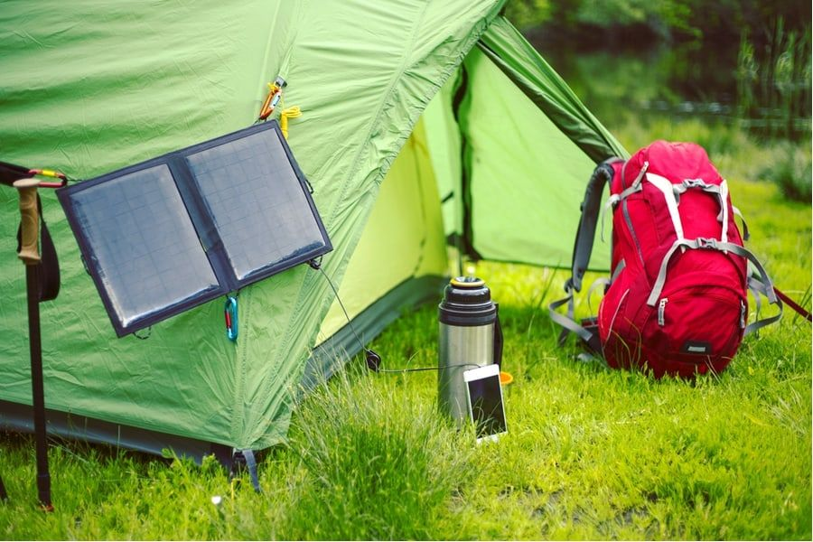 Best Portable Solar Panels For Camping In 2020 With Images Portable Solar Panels Portable Solar Power Solar Panel Charger