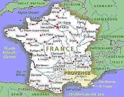Provence France Map Map of France | Places to Visit | Provence france, Provence, France Provence France Map