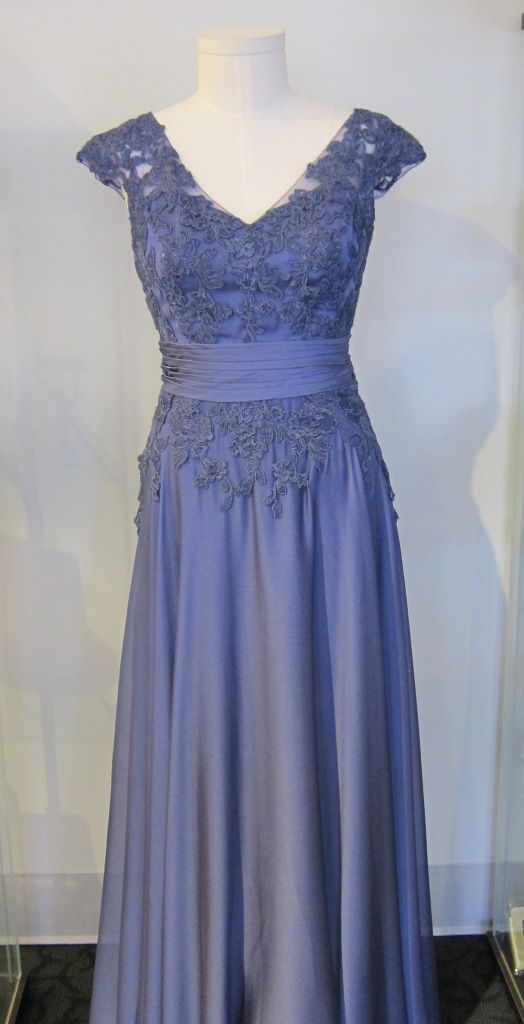 Jade J175001 V neck, Lace Gown #MOB #MOG at Le Dress Boutique | MOB ...