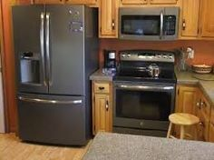 Image Result For Ge Slate Appliances In Kitchen With