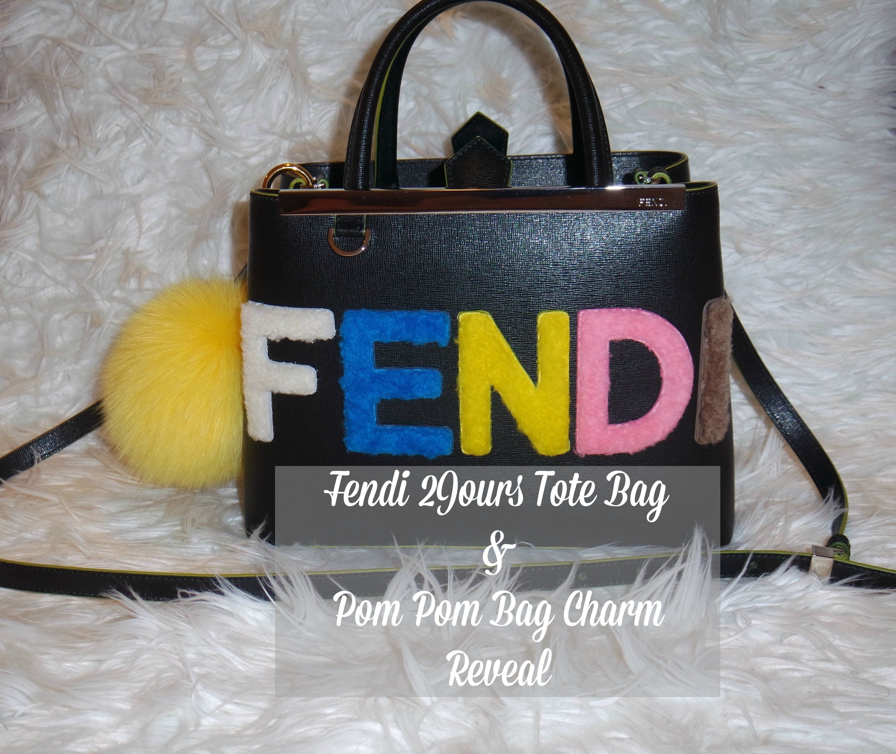 Fendi Bag With Colorful Letters
