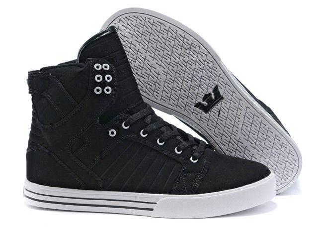 c312244d34 Discover ideas about Top Shoes For Men. Buy Supra Skytop Black Shoes Men's  ...