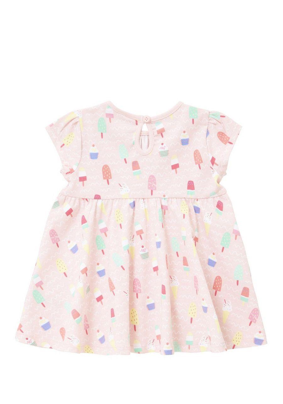 b818099b7 Clothing at Tesco | F&F Ice Cream Print Jersey Dress > dresses > Baby Girls  > Baby
