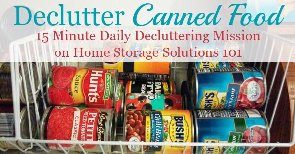 Canned Food Shelf Life, Safety & Storage Tips Food shelf