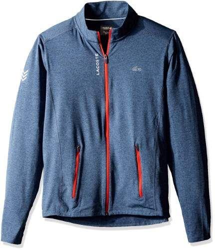 201f9f16134db Lacoste Blue Tennis Performanceperf Mens 3XL Soft Shell Jacket ...