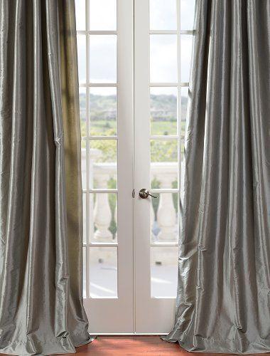 Prettytrip Com Half Price Drapes Faux Silk Curtains Panel Curtains