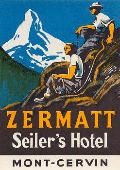 Matterhorn Cervin Valais Zermatt Seiler