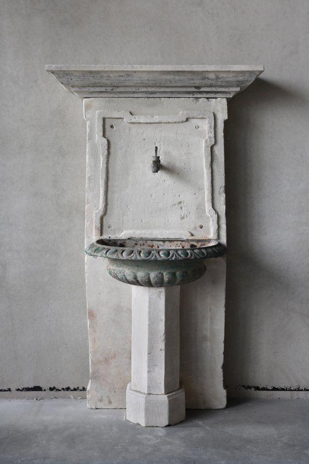 Antike Baustoffe alte waschbecken ref w05 alte waschbecken und brunnen antike