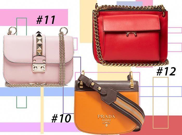 Fall Winter 2017 Colorful Designer Handbags Bags Ping