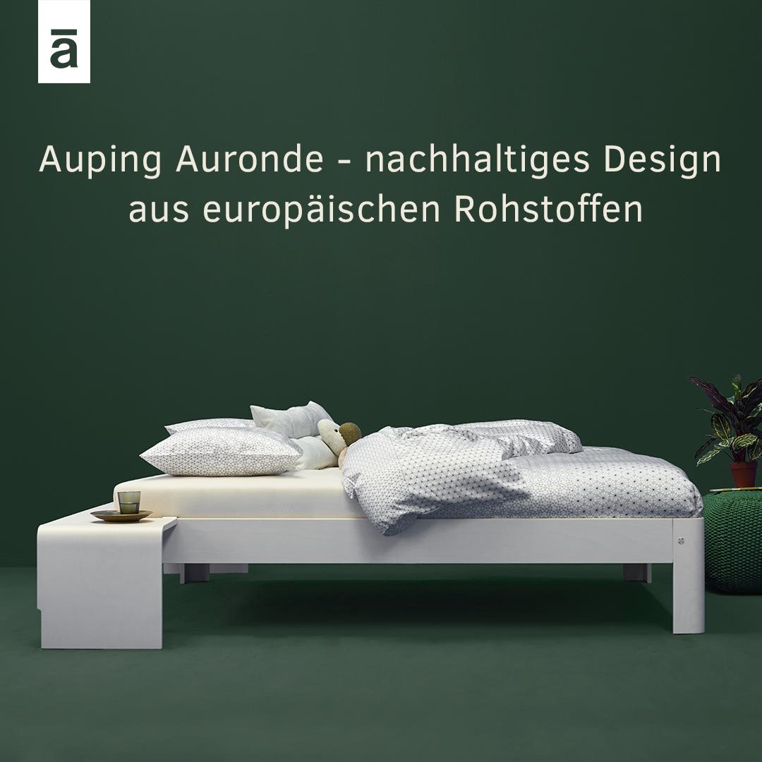 der designklassiker von auping – das auronde in weiss, Schlafzimmer entwurf