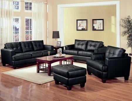 Small Living Room Ideas Black Leather Sofa