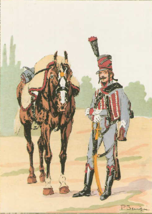 3rd Hussards Brigadier grand tenue 1805