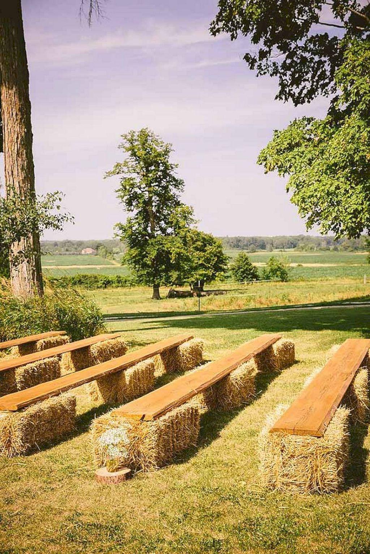 35 sweet and romantic backyard wedding decor ideas