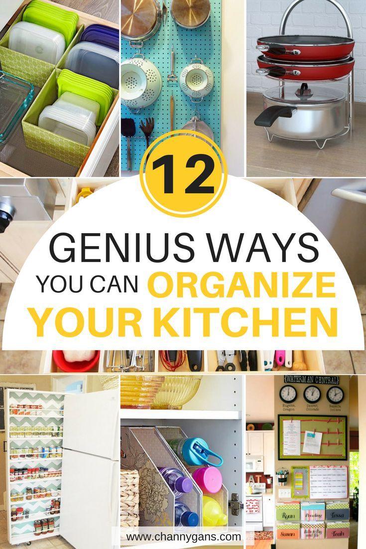 Do I Organize My Kitchen 12 genius kitchen organization ideas to get your kitchen in order these kitchen organization ideas are awesome now i can easily organize my kitchen i workwithnaturefo