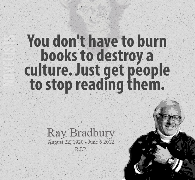 Fahre Properly We Should Read For Power Man Reading Should Be Enchanting Fahrenheit 451 Quotes