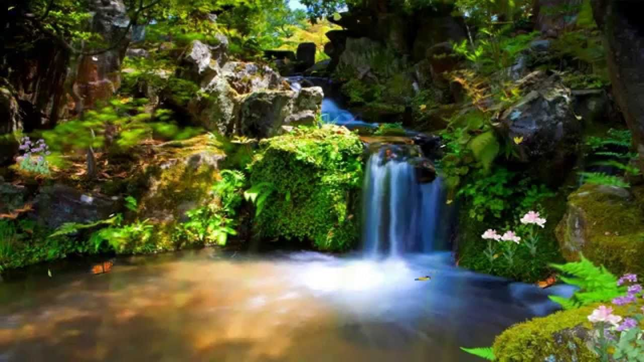 Down In The Valley W Lyrics Moving Wallpapers Screen Savers Wallpapers Waterfall Wallpaper Animated nature wallpapers for pc