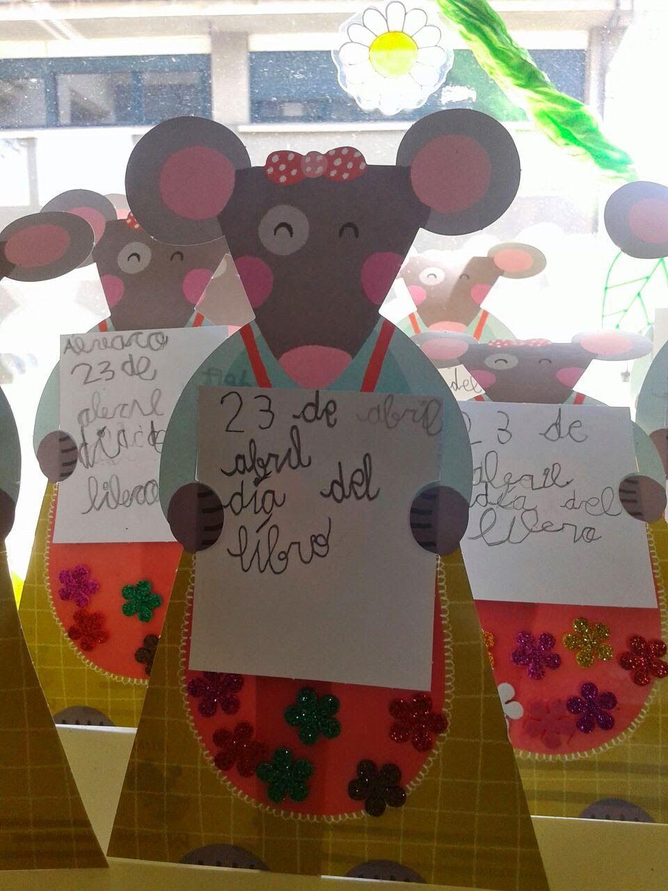 Blog De La Biblioteca Actividades Centro Educativo El Dia Del Libro