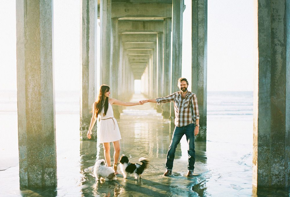 Family photography · jana morgan photography san diego wedding photographer la jolla beach engagement session 02 scripps pier la