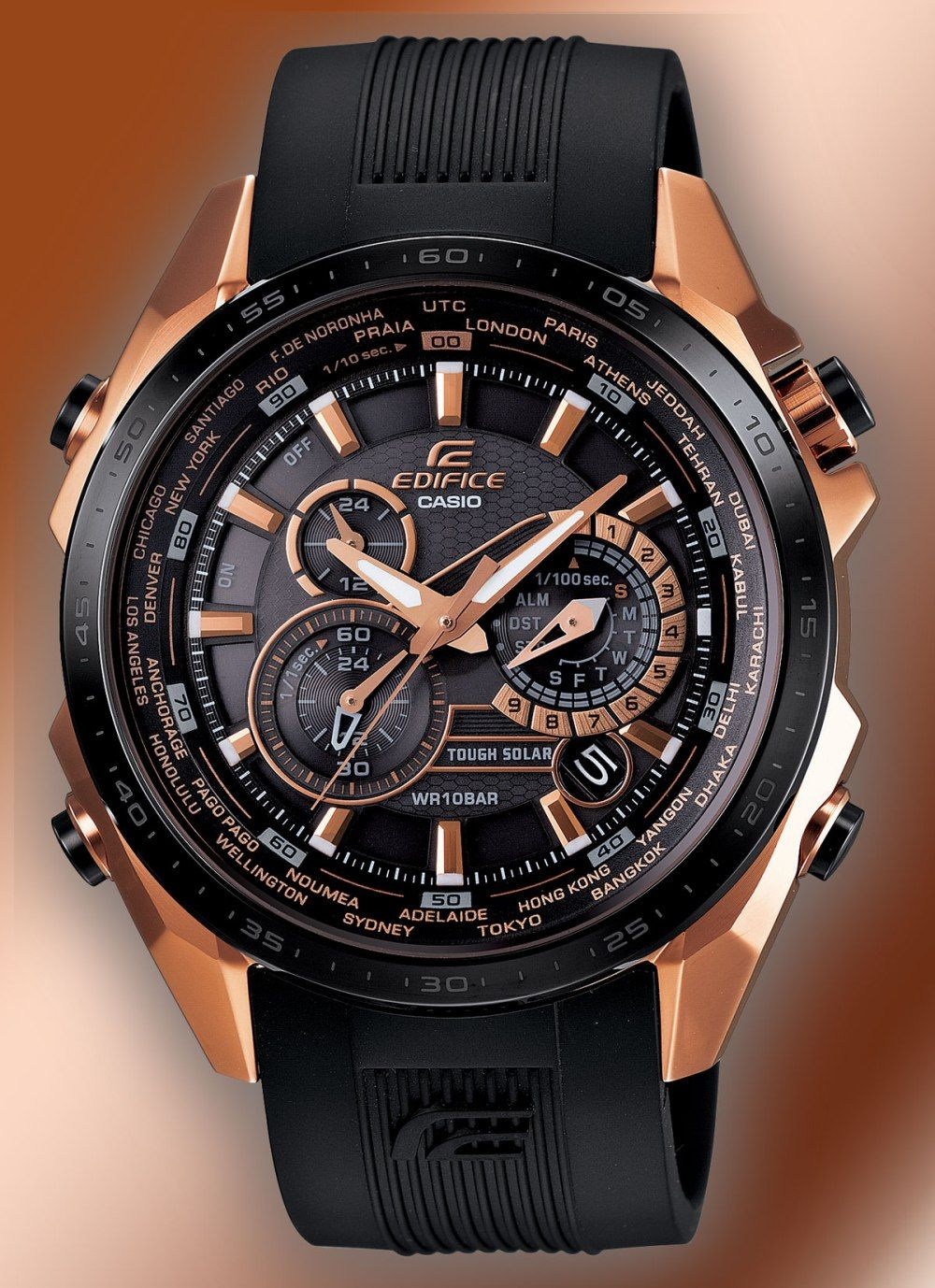 It's just a photo of Ambitious Casio Edifice Gold Label Efx 510p