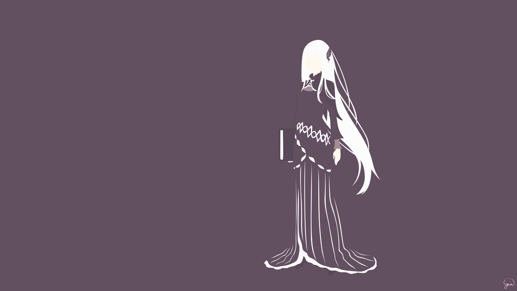 Echidna Re Zero By Greenmapple17 Echidna Art Anime Wallpaper