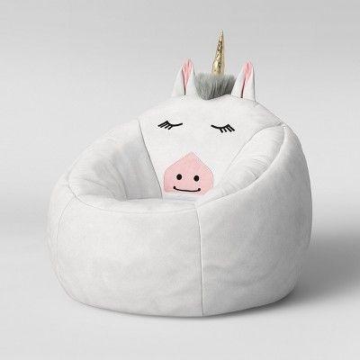Strange Character Bean Bag Chair White Unicorn Pillowfort Bean Machost Co Dining Chair Design Ideas Machostcouk