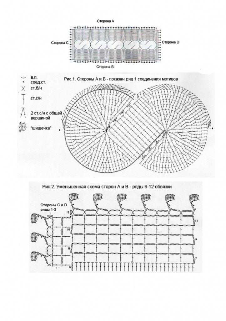 Irish crochet &: SCARF ............ШАРФ