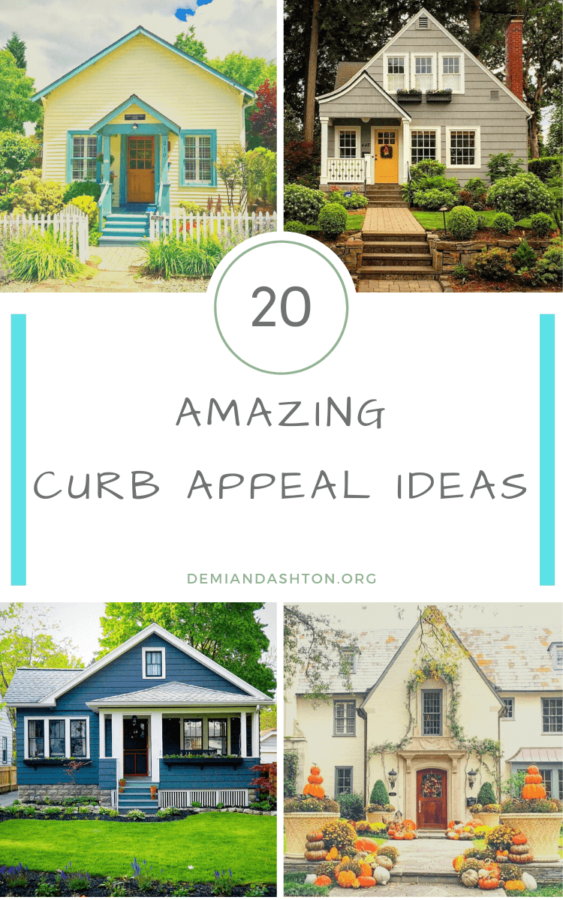 20 Amazing Curb Appeal Ideas To Make A Good First Impression Curb Appeal Porch Colors Porch Design