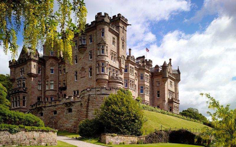 luxury wedding skibo castle scotland
