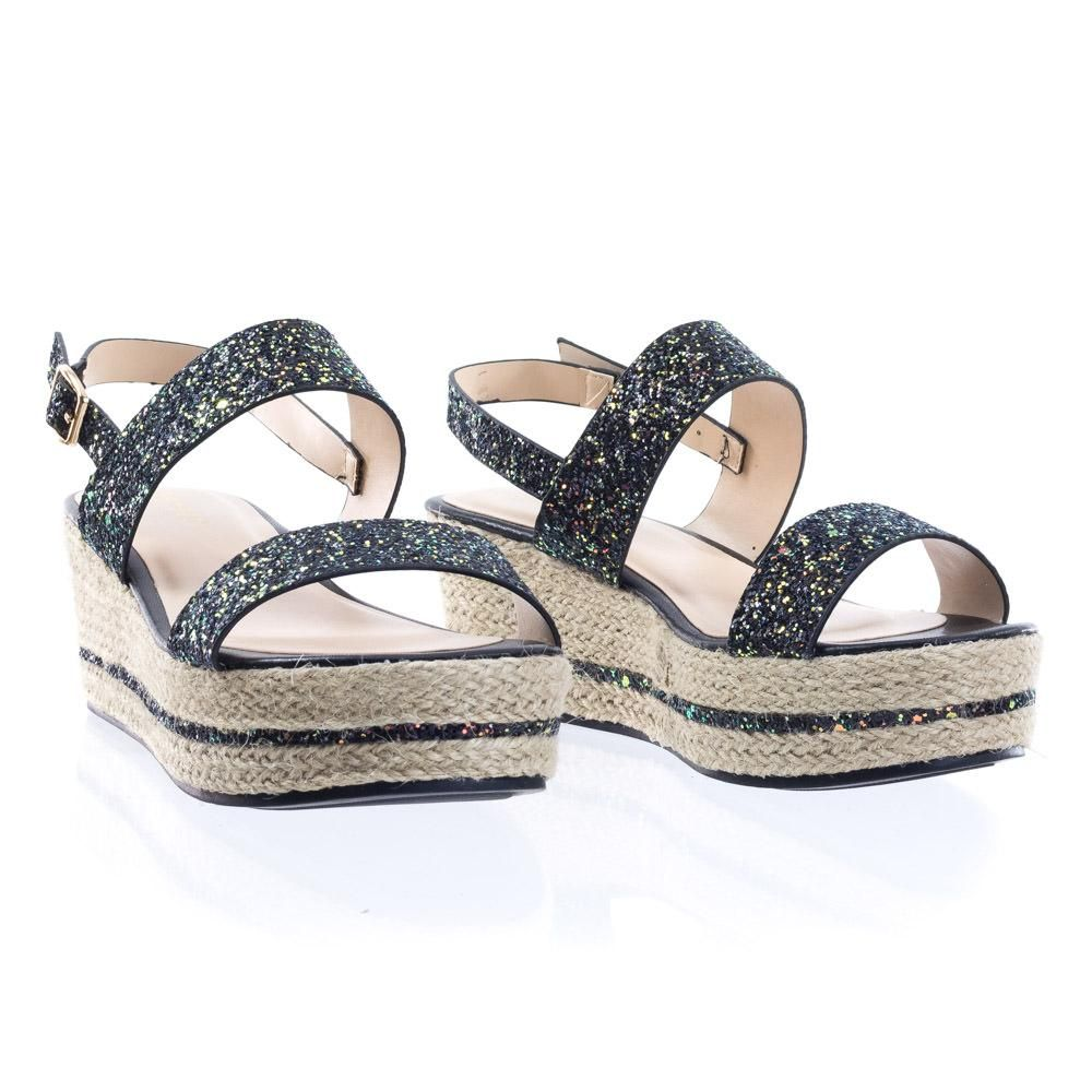 f854ff97fa7 About This Shoes  These 90 s rave inspired sandal features a lightly angled platform  wedge
