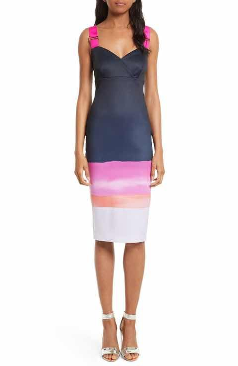 a8cb2403b2dee0 Ted Baker London Jahner Marina Mosaic Body-Con Dress